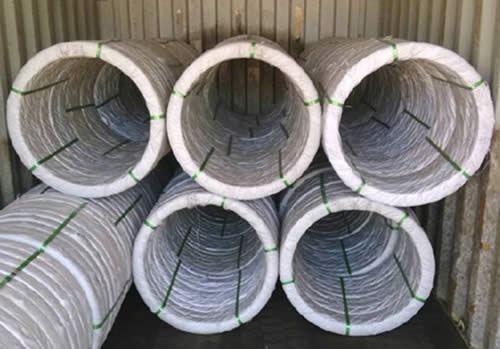 Oval Wire Packed for Export